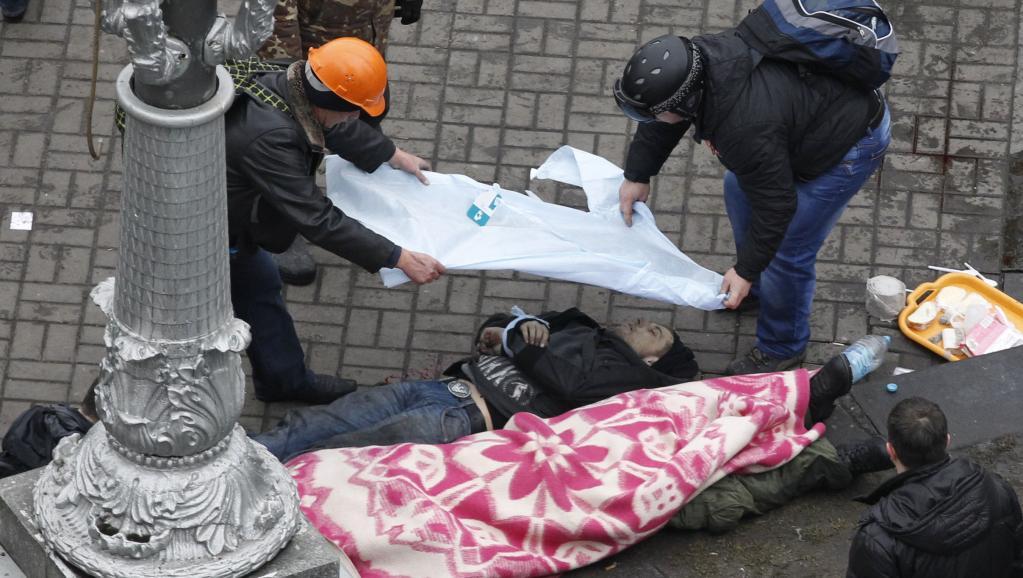 Ukraine: violences meurtrières à Kiev