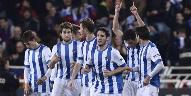 Le Barça tombe à Anoeta