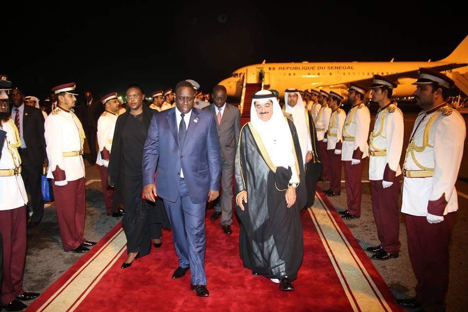 Après Paris, le président Sall au Qatar