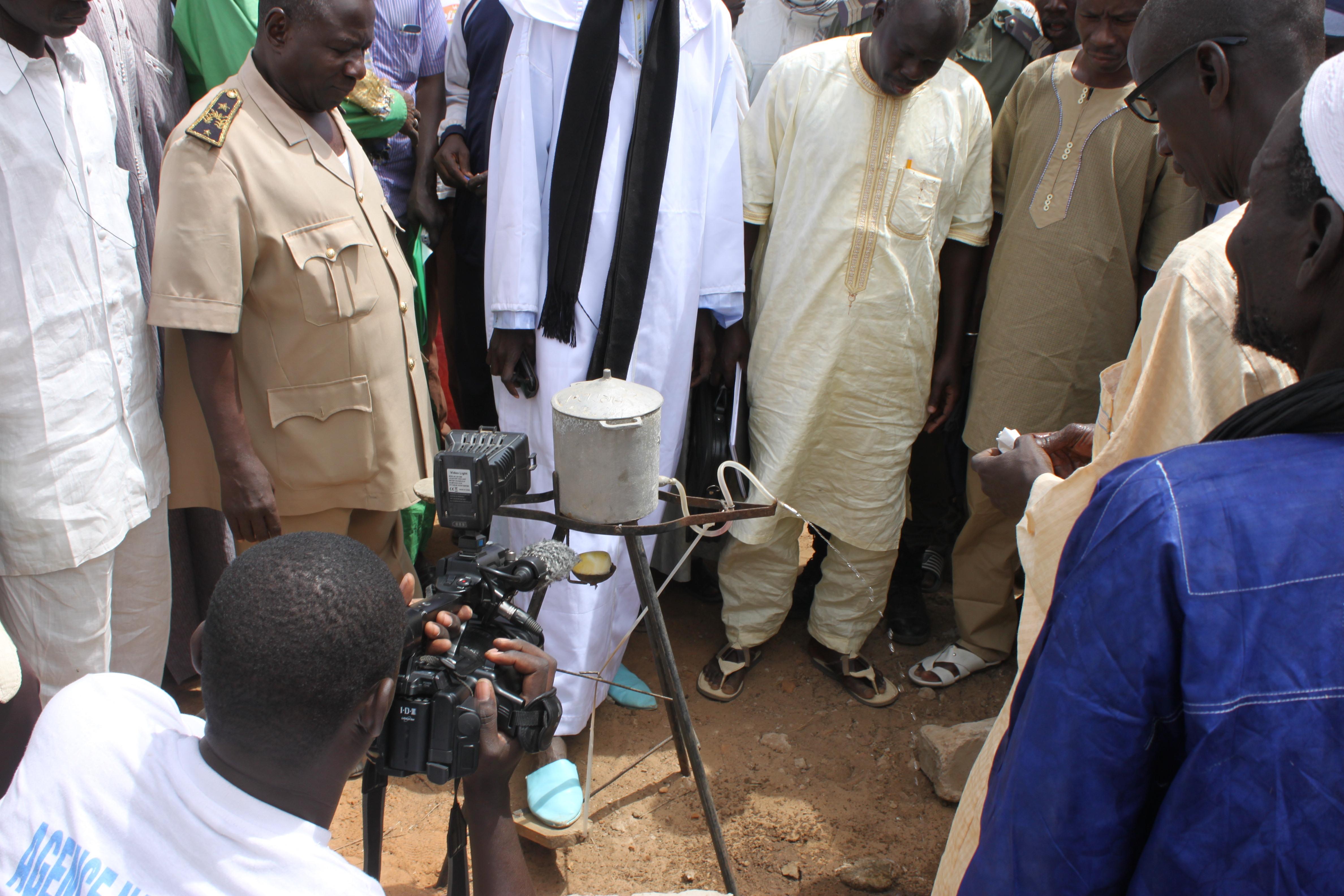 Objectifs d'hygiène et d'assainissement: Fin de la défécation à l'air libre dans le département de Mbacké