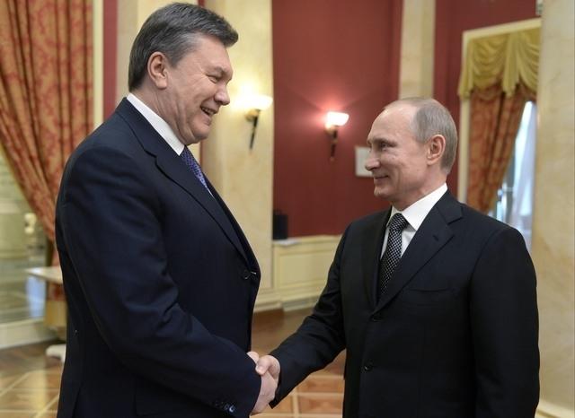 UKRAINE: Ianoukovitch demande protection à la Russie