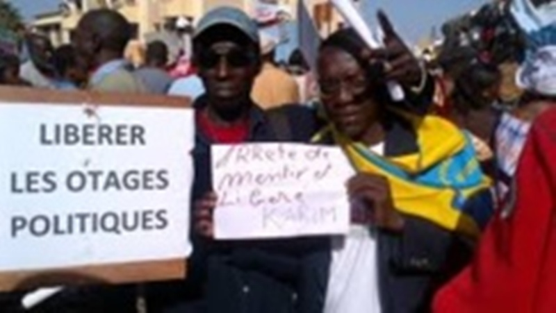 Marche avortée du mouvement libéré Karim: le procureur libére Demba Dang et Cie