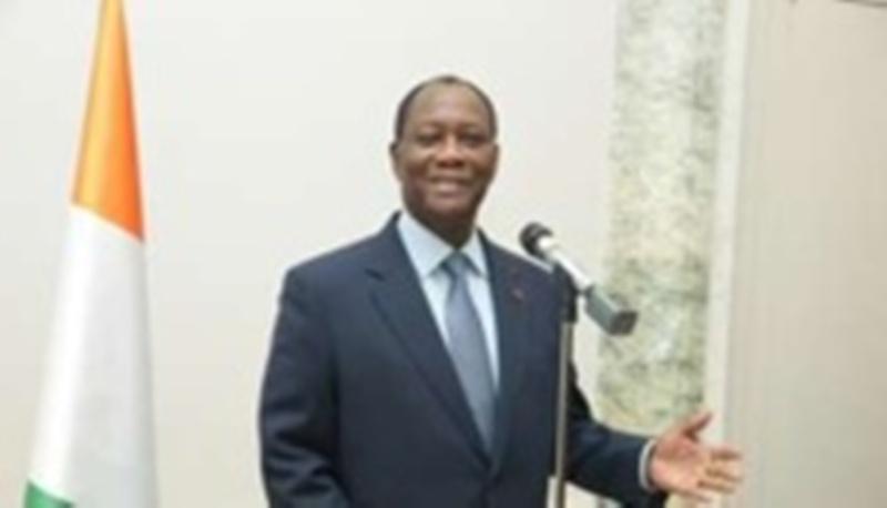 Côte d'Ivoire Ouattara réapparaît en public et annonce son retour en Côte d'Ivoire pour dimanche