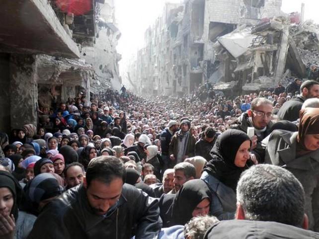Syrie: Yarmouk, le camp de la mort lente
