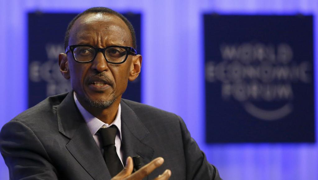 Le président rwandais Paul Kagame, le 24 janvier 2014.
