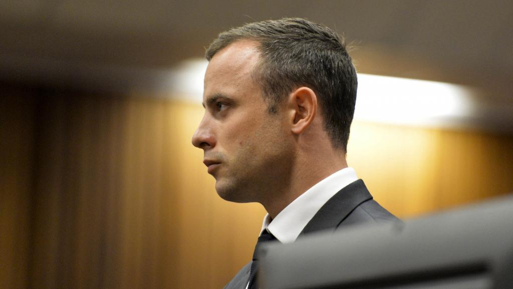 Oscar Pistorius lors du premier jour de son procès, le 3 mars 2014. REUTERS/Herman Verwey/Pool