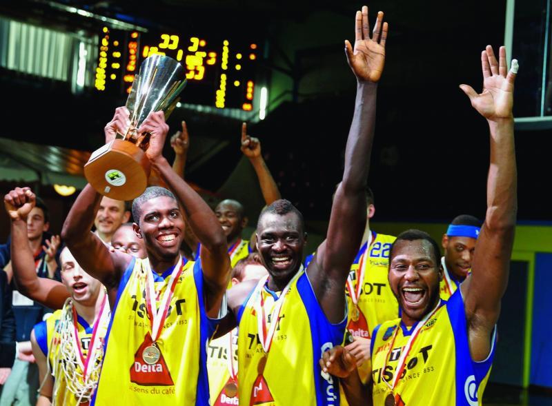 Basket : 3 joueurs sénégalais gagnent la Coupe de Suisse