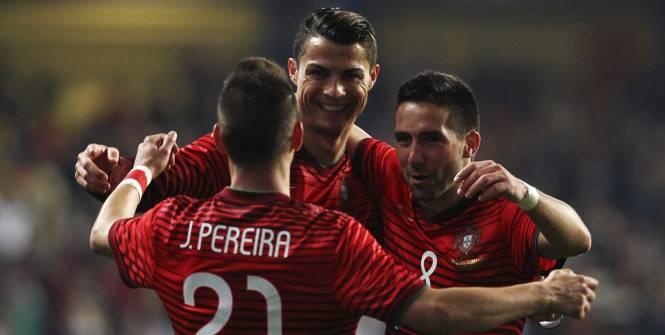 Le Portugal et Ronaldo en démonstration