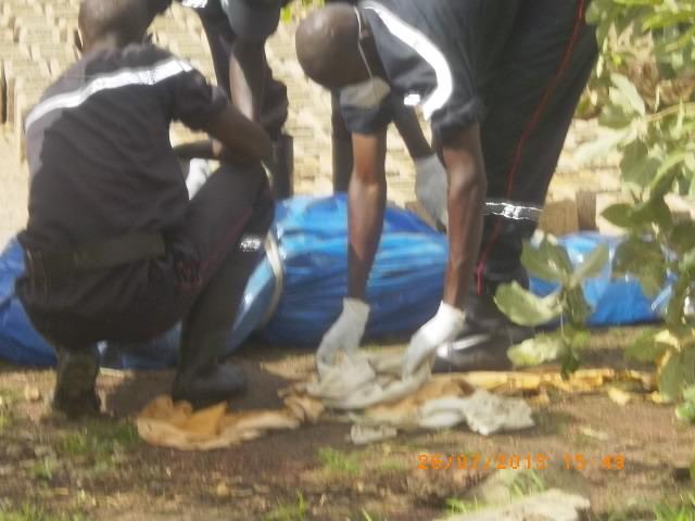 Série de meurtres se poursuit à Tamba: un voyageur égorgé, ses parties intimes découpées