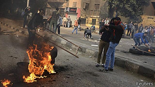 Des manifestations sont régulièrement organisées par les Frères Musulmans au Caire. Des rassemblements qui se terminent souvent dans la violence