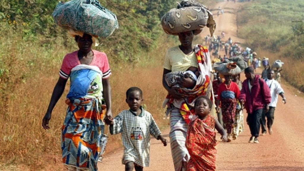 En 2002, à DuéKoué, dans l'ouest de la Côte d'Ivoire, des milliers de civils ont fui les zones de combats.