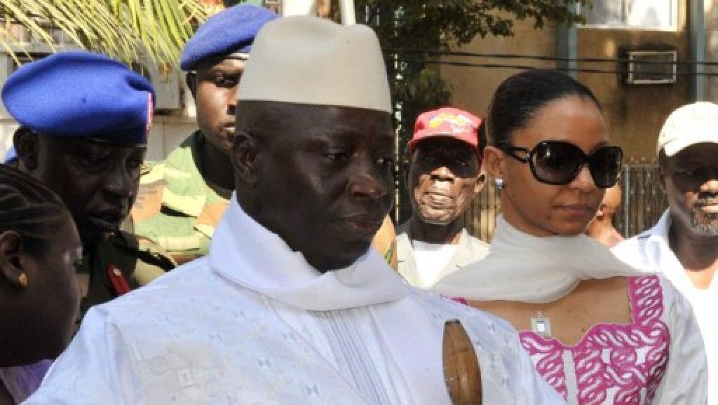 Yahya Jammeh, le président gambien.
