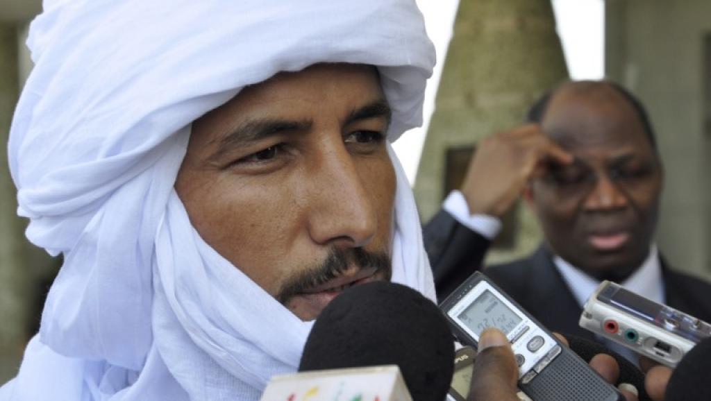 Bilal Ag Achérif, chef politique du Mouvement national pour la libération de l'Azawad (MNLA).
