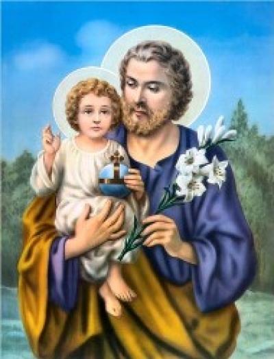 19 mars, Solennité de Saint Joseph, Époux de Marie