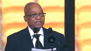 Le président sud-africain Jacob Zuma aurait profité de soi-disant travaux de sécurité.