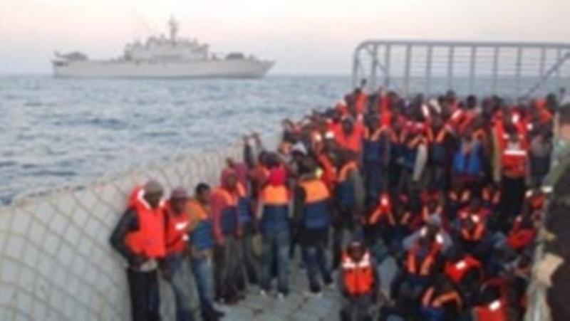 1.000 migrants de plus secourus par l'Italie ces dernières 24 heures
