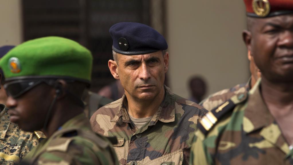 Francisco Soriano, dirigeant de l'opération française Sangaris, le 5 février 2014 à Bangui.