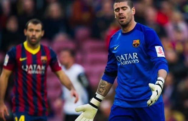 Vainqueur, le Barça pleure Valdés
