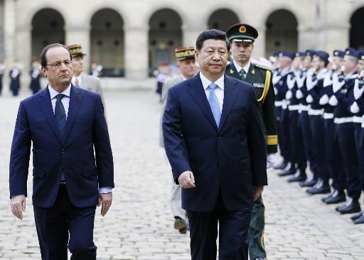 France : rien n'est trop beau pour le président chinois