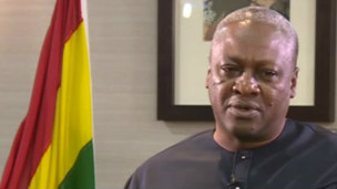 John Dramani Mahama, le nouveau président en exercice de la CEDEAO