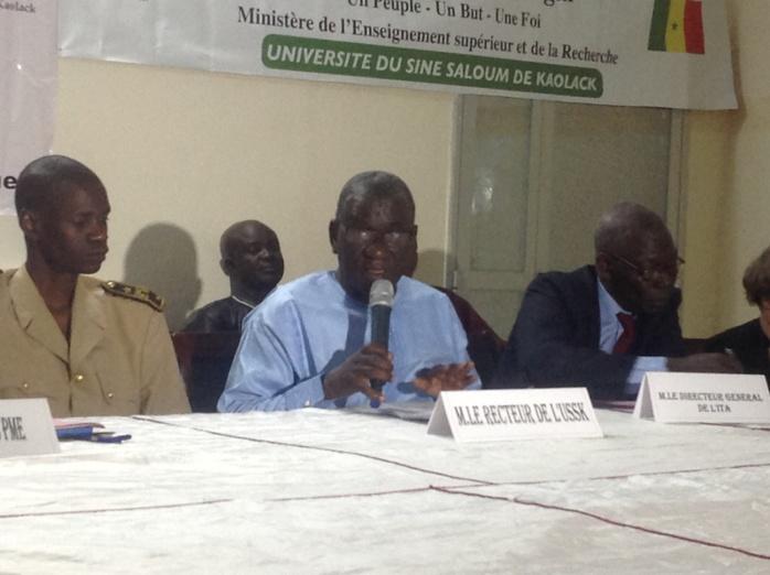 Université du Sine Saloum s'ouvre aux experts et signe un accord avec Gembloux Agro-Bio Tech