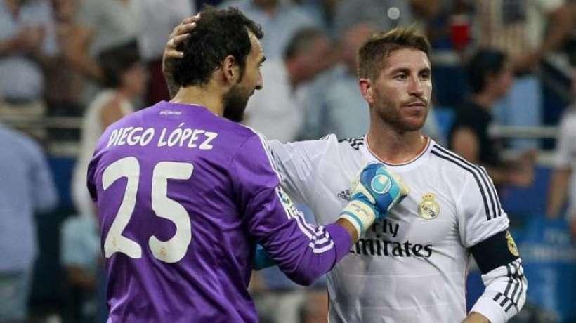 Diego Lopez perd patience