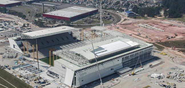 Coupe du Monde Brésil 2014 : Accident mortel sur le chantier du stade de Sao Paulo