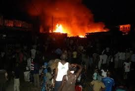 Quartier Montagne Nord Louga: Un incendie ravage une quainzaine de maisons