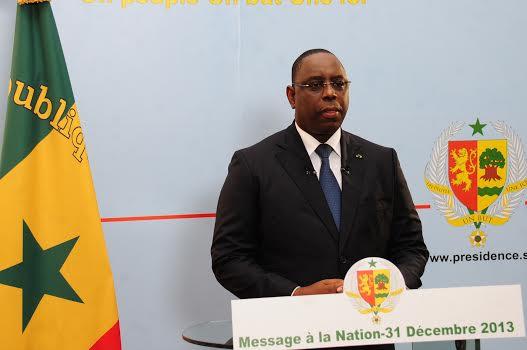 Discours à la Nation :Macky Sall prône un développement  territorialement  équitable et socialement inclusif