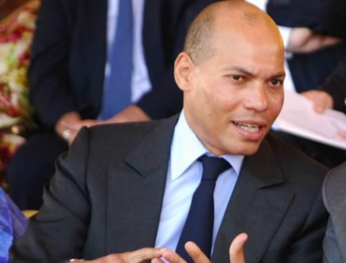Karim Wade titille Macky et s'adresse aux Sénégalais quelques mn avant