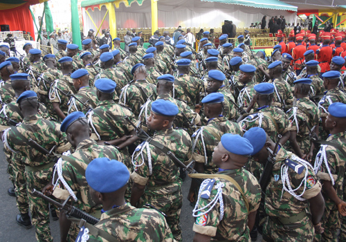 « Mille nouveaux élèves gendarmes rejoindront la Gendarmerie nationale », le chef de l'Etat