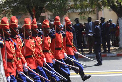 Fête de l'indépendance : arrivée du Président de la République et des autorités à la place de l'Obélisque