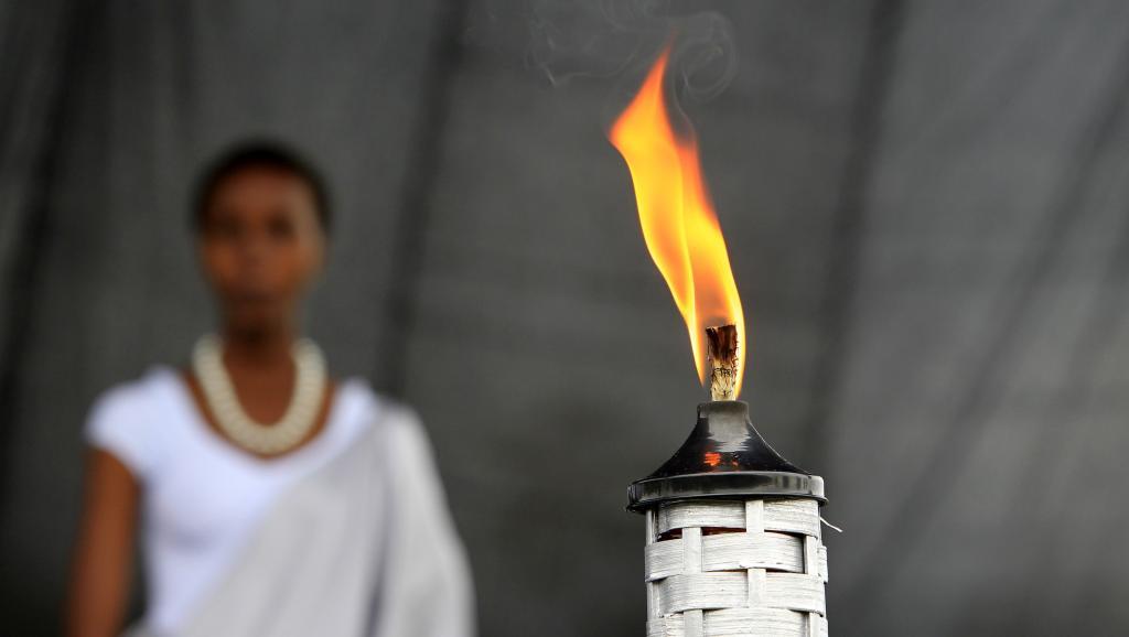 La torche du souvenir, Kwibuka, est arrivée à Kigali après une tournée dans tout le pays en prélude aux cérémonies commémoratives du génocide ce lundi 7 avril 2014.
