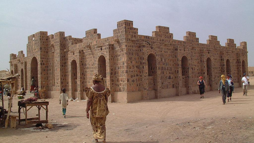 Vue de Kidal, au nord-est du Mali.