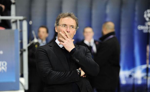 L'entraîneur parisien Laurent Blanc.