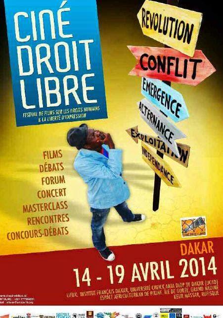 1ère édition de Ciné Droit Libre à Dakar : Intense plaidoyer pour le respect des droits de l'homme et de la liberté d'expression
