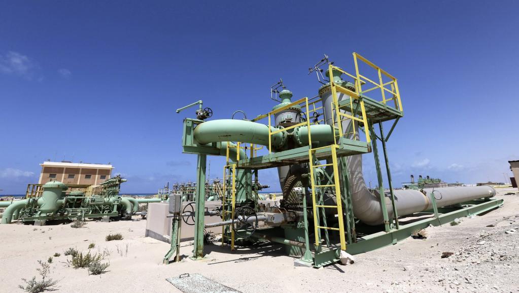 Le terminal pétrolier de Zwitina, dans l'est de la Libye, le 7 avril 2014, après avoir été occupé par les rebelles. REUTERS/Esam Omran Al-Fetori