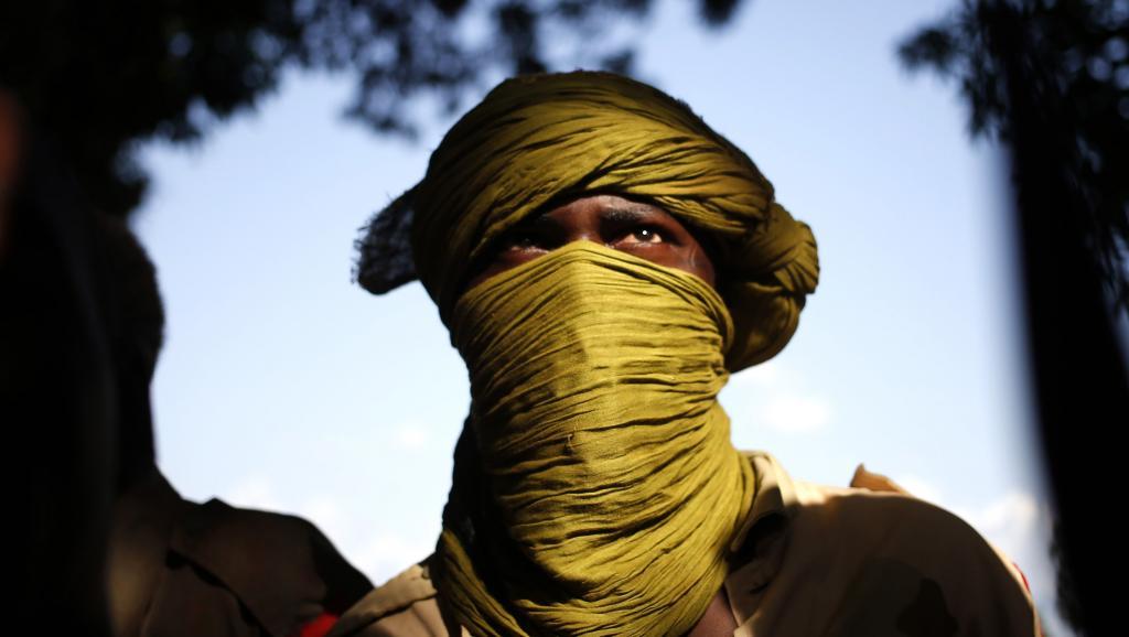 Un combattant de l'ex-Seleka à Bria, le 9 avril 2014.
