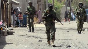 Des soldats nigérians en patrouille dans l'Etat de Borno