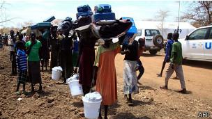 Beaucoup de Sud Soudanais se sont réfugiés en Ethiopie et dans d'autres pays voisins.