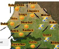 ANACIM : Prédominance de la chaleur sur tout le pays