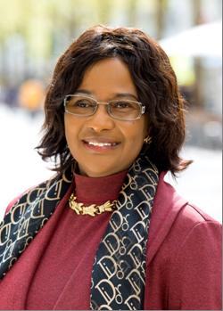 Dr. Pierrette Herzberger-Fofana, candidate au  Parlement européen