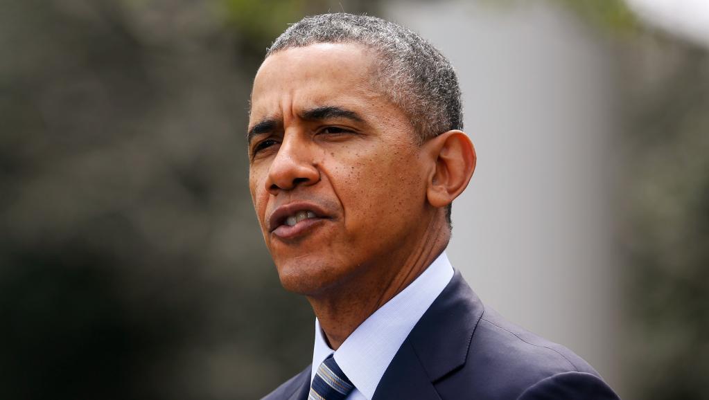 Le président américain Barack Obama a quitté mardi Washington pour un voyage en Asie. REUTERS/Jonathan Ernst