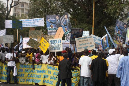 Interdit d'accueillir Wade: le PDS demande aux organisations des droits de l'homme de défendre la démocratie