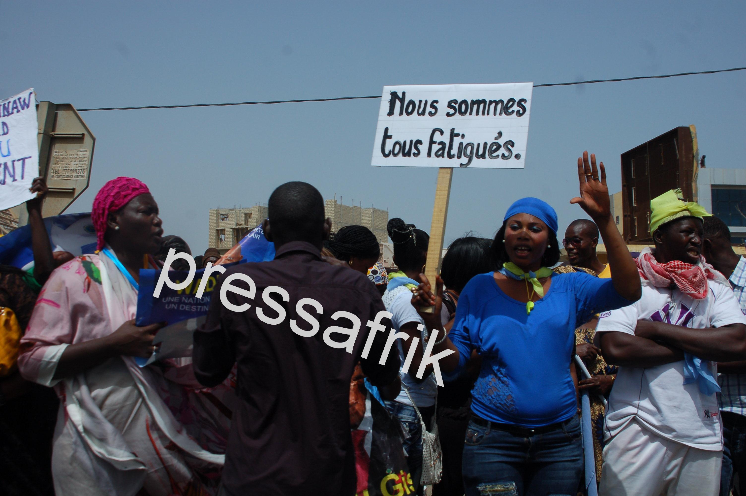 Arrivée de Wade : Mohamed Massaly et les militants en mode provocation