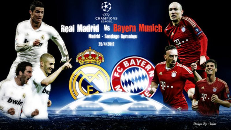 1/2 finale aller Ligue des Champions-Real Madrid 1 0 Bayern: Benzema met les galactiques sur orbite
