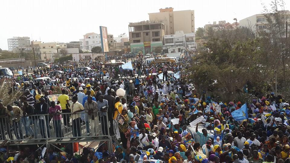 Démonstration de force réussie: la mobilisation du PDS fait trembler le régime de Macky