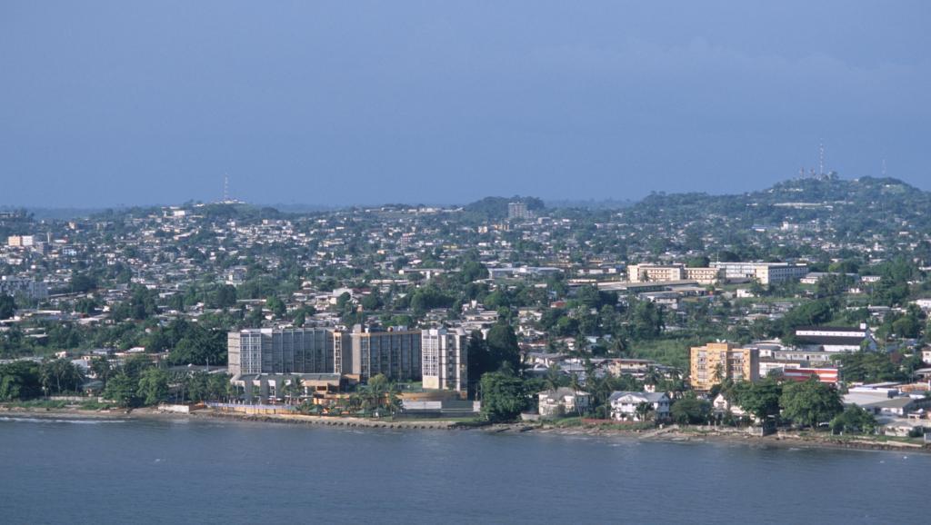 Vue de Libreville, Gabon.
