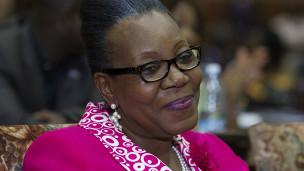 La présidente centrafricaine de transition, Catherine Samba-Panza
