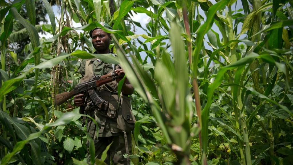 Rebelle congolais.